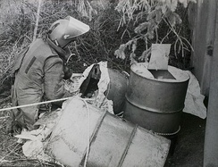 Oil-drum roadside IED removed from culvert in 1984