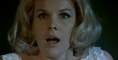 Carroll Baker in The Sweet Body of Deborah (1968); the American actress starred in a number of giallo films.