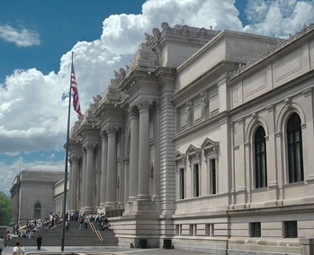The Metropolitan Museum of Art at Fifth Avenue and 82nd Street