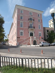 The Ionian Academy in Corfu, the first academic institution of modern Greece.