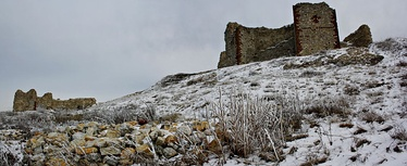 Fortress during winter
