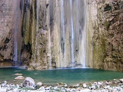Lamadaya are waterfalls located in the Cal Madow mountain.
