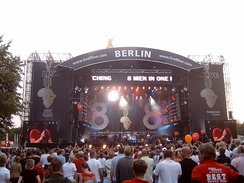 Live 8 concerts took place in 9 countries worldwide during 2005.