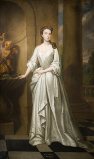 Charles Watson-Wentworth married Mary Bright (pictured) in 1752