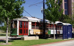 M-line Streetcar 186 at Cityplace Station.