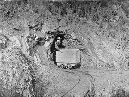 Gold mining in Coromandel Peninsula, New Zealand in the 1890s