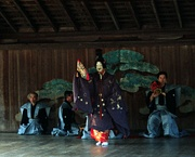 Noh performance at Itsukushima Shrine