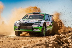 The Škoda Fabia R5 is one of the most successful cars in the category.