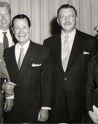 Brown and Irving Leroy Ress (right) c. 1950