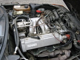 1986–1989 2.0L B201 Intercooled turbo H engine