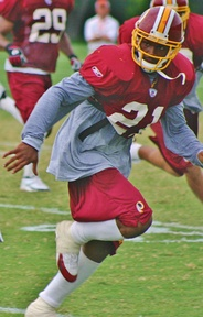 Redskins' safety Sean Taylor during practice