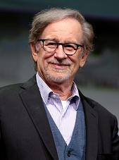 Steven Spielberg at the San Diego Comic-Con in 2017.