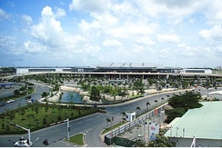Tan Son Nhat International Airport is the busiest airport in Vietnam