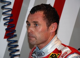 Nine-time Le Mans winner, Danish driver Tom Kristensen
