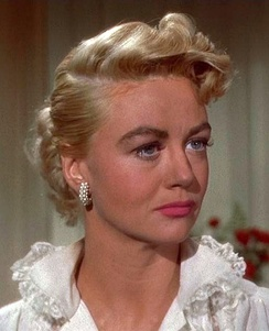 Dorothy Malone in Written on the Wind, 1956