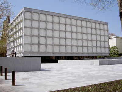 Beinecke Library at Yale University by Skidmore, Owings & Merrill (1963)