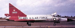 11th FIS F-102 Delta Dagger 56-1485 in arctic colors about 1959