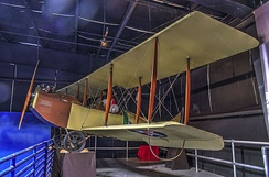 1917 JN-4 on display at the Museum of Aviation, Robins AFB