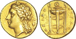 Electrum, a natural alloy of silver and gold, was often used for making coins.