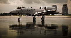 A-10C of the 163d Fighter Squadron, Fort Wayne Air National Guard