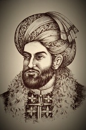 Ahmad Shah Durrani, founder of the last Afghan empire and viewed as Father of the Nation