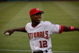 Soriano with the Washington Nationals in 2006