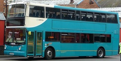 An Arriva Southern Counties Volvo B7TL in England