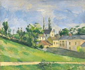 Paul Cézanne, The Uphill Road, 1881