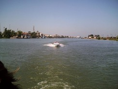 The Danube in Sulina, Romania