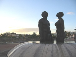 Emancipation Park, Kingston, Jamaica 2004
