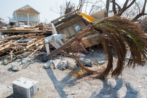 Remains of a neighborhood destroyed by Hurricane Irma in Big Pine Key, Florida on Wednesday, Sept. 20, 2017. Photo by J.T. Blatty / FEMA