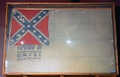 Confederate National flag of Fort McAllister