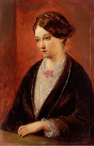 Painting of Nightingale by Augustus Egg, c. 1840s