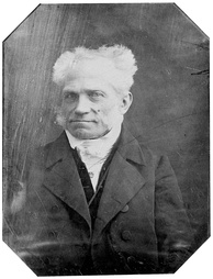 Schopenhauer at age 58 on 16 May 1846