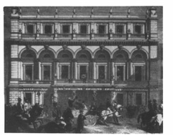 The arrival of Prime Minister Lord Palmerston for the opening of the Hartley Institute on 15 October 1862