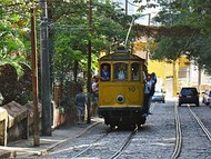 Santa Teresa Tram is the oldest operating tram system in South America.