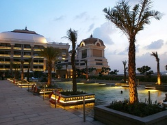 ITC Grand Chola Hotel, Chennai, is the largest hotel in South India.