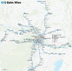 The Vienna S-Bahn is a suburban metro railway network in the Metropolitan area of Vienna