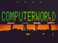 "Coldplay received permission from Kraftwerk to use the main riff from ""Computer Love"" for the track ""Talk""."