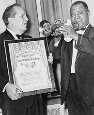 Louis Armstrong in 1966