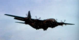 MC-130E of the 7th Special Operations Squadron