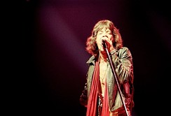 Jagger on stage in July 1972, New York