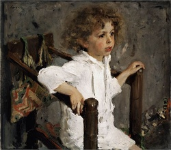 Portrait of Margarita Morozova's son Mika (1901)