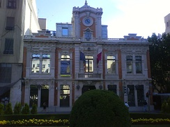 Home Cortés, home of the Municipal Museum of Albacete.