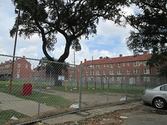 Iberville Housing Projects in New Orleans, Louisiana