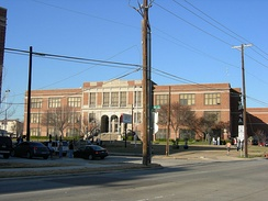 North Dallas High School serves residents north of Commerce Street