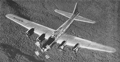 "B-17 modified for testing of the XT-34 turboprop. When testing concluded, the aircraft was restored to stock configuration as the ""Liberty Belle"", but was lost in a post-forced-landing fire near Oswego, Illinois, on 13 June 2011."