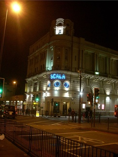 The Scala was previously the King's Cross Cinema, established on Pentonville Road in 1920.