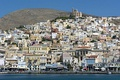 Ermoupoli, capital of the Cyclades. Syros