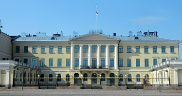The Presidential Palace, Helsinki  is the official state residence of the president